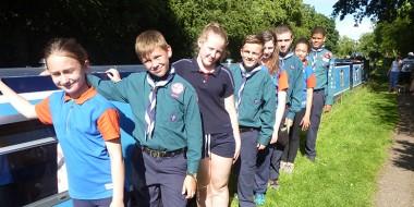 255th Birmingham Guides & 25th Birmingham Scouts Joint Trip