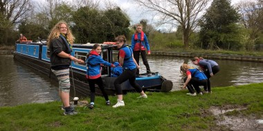 1st Lapworth Guides' Weekend